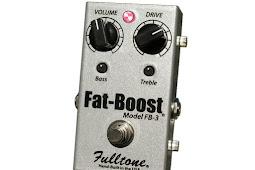 Mengenal efek dinamik gitar boost atau volume pedal