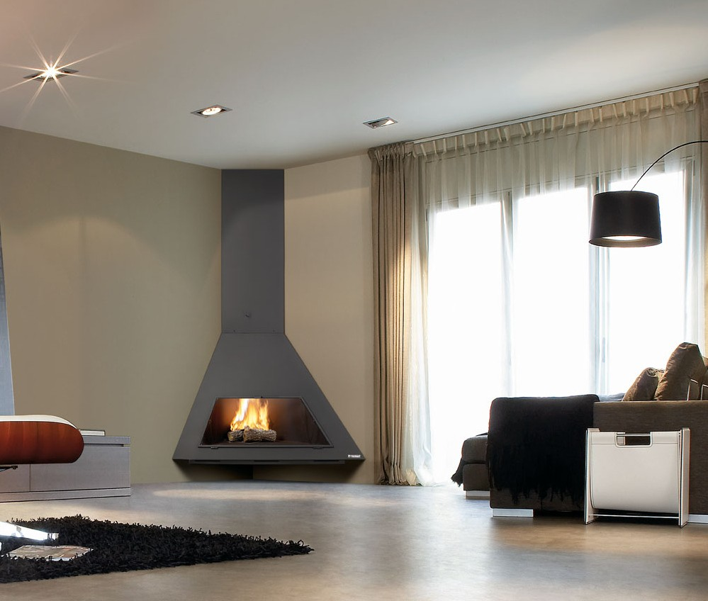 Casas modulares y prefabricadas de dise o chimeneas de - Chimeneas de diseno ...