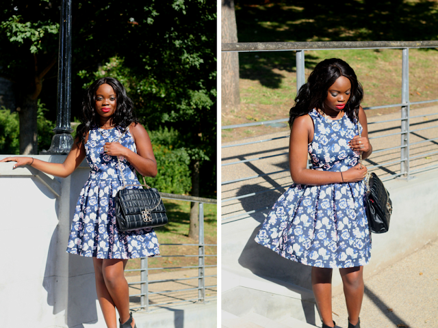 superdry floral dress