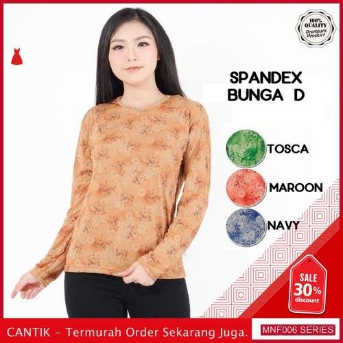 MNF006A137 Atasan Bunga Wanita Atasan Kaos Baju terbaru 2019 BMGShop