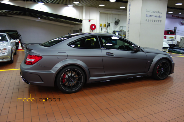 all tuning cars nz mercedes benz c63 amg black series 2012 by mode carbon. Black Bedroom Furniture Sets. Home Design Ideas