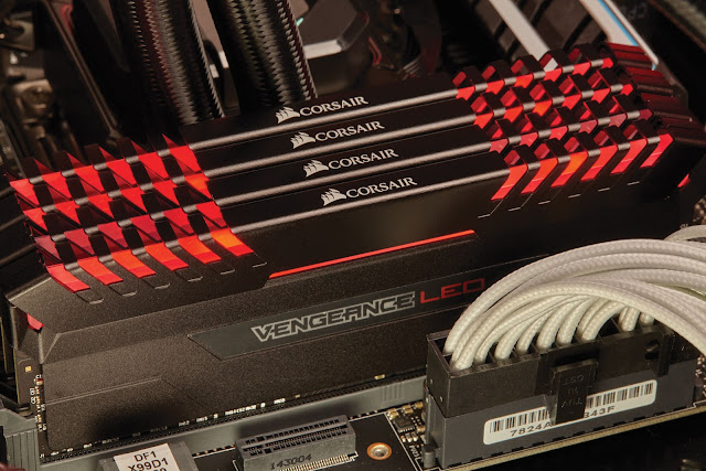 corsair VENGEANCE LED DDR4 RAM Upgrade