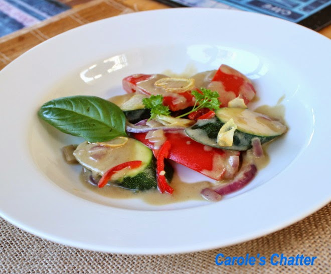 Veggie green curry – Thai Style by Carole's Chatter