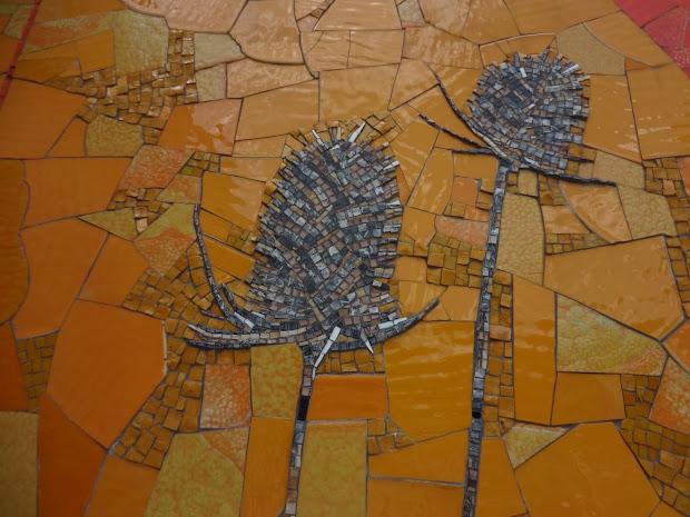 Simple Glass Mosaic Art