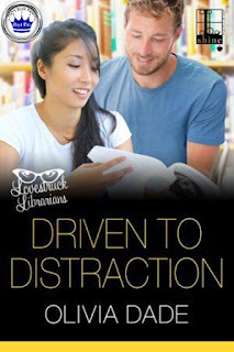 romance novel covers, contemporary romance, Driven to Distraction by Olivia Dade