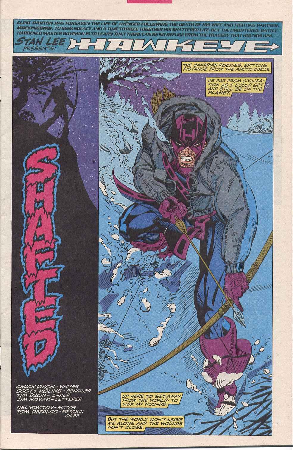 Hawkeye (1994) Issue #1 #1 - English 2