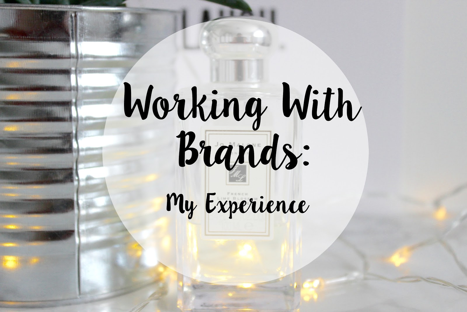 working with brands on your blog
