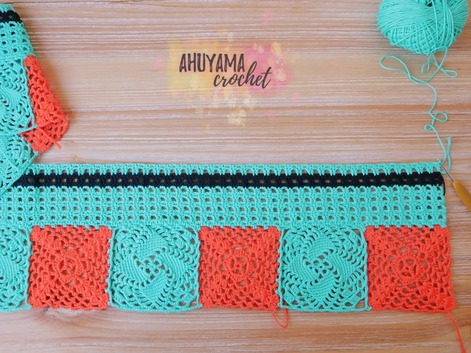 Ahuyama Crochet ~ Cortinas De Ganchillo Para Baño