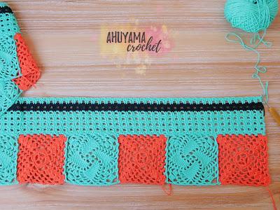 tejer cortinas crochet ahuyama