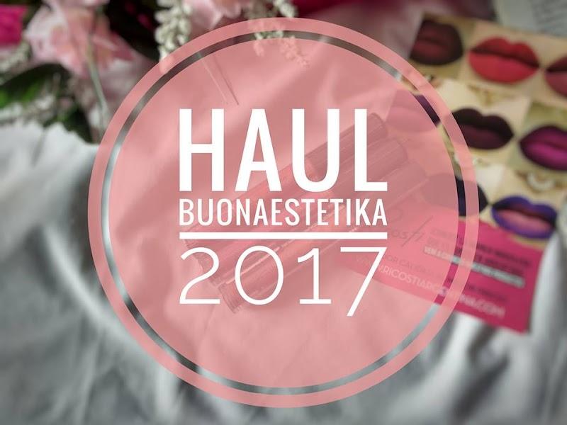 HAUL BUONAESTETIKA 2017