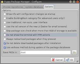 Como remover programas do Lxpup (Slacko)