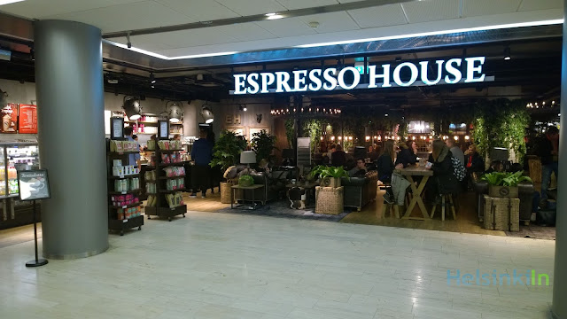 Espresso House at Kamppi