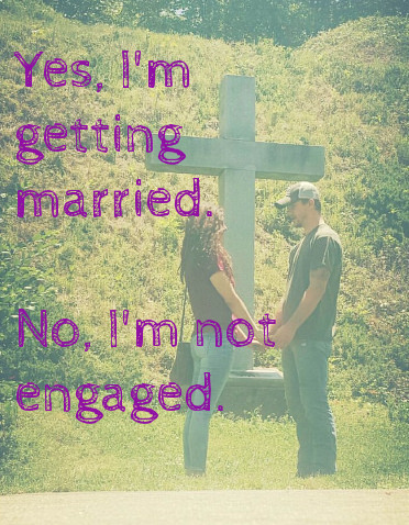 By Grace With Grit: Yes, I'm getting married  No, I'm not engaged