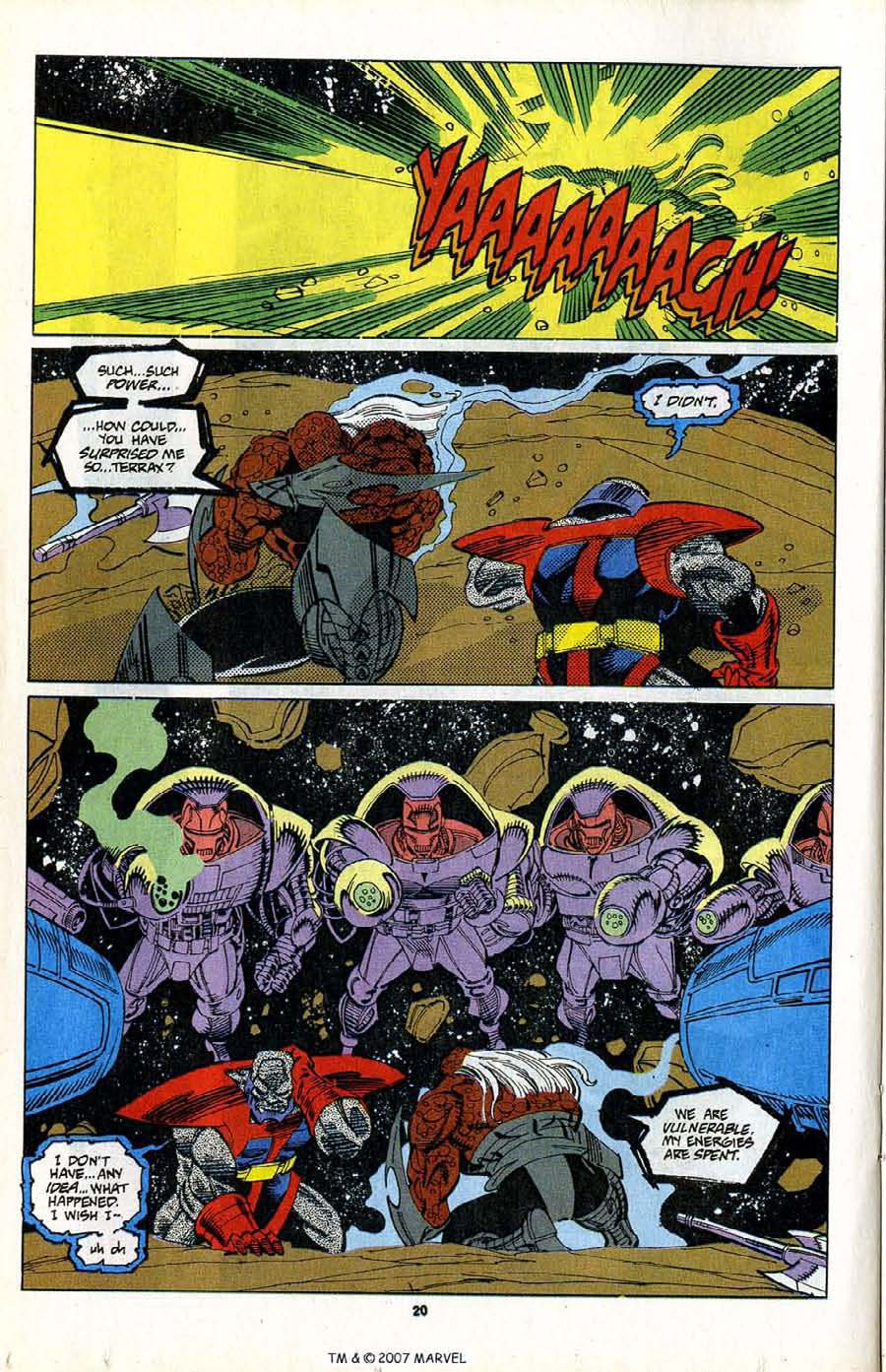 Read online Silver Surfer (1987) comic -  Issue #80 - 22