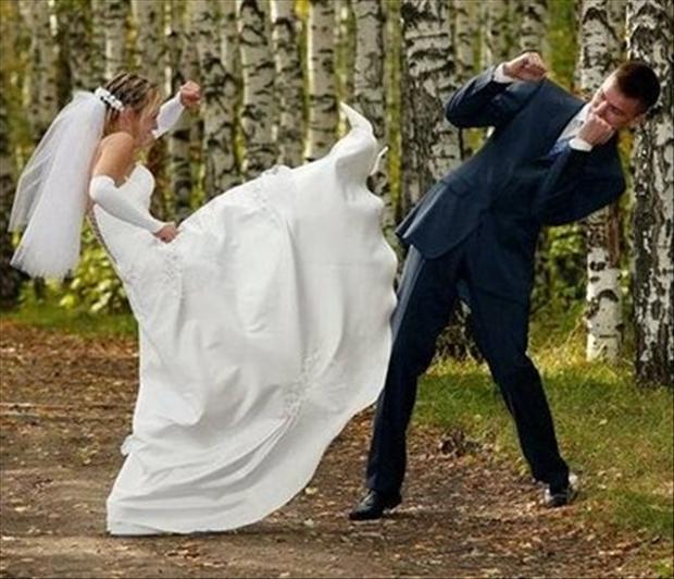20+ Funny Wedding Photos That'll Make You Laugh