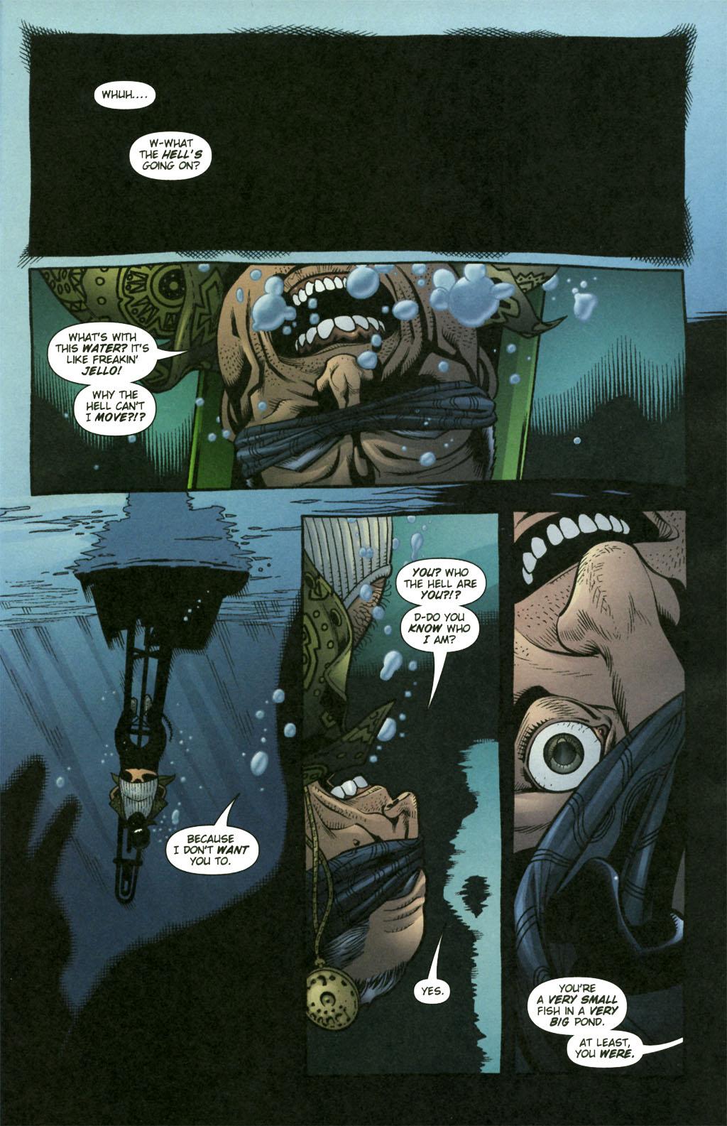 Read online Aquaman (2003) comic -  Issue #21 - 2