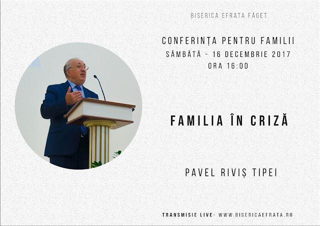 Conferința pentru familii la Biserica Efrata Faget - 16 dec 2017