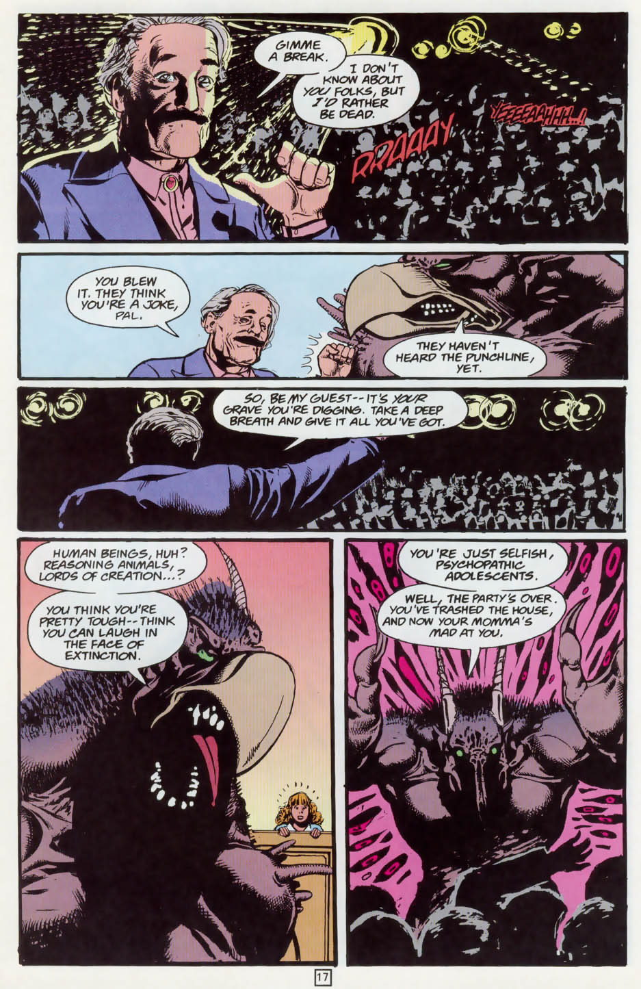 Read online Animal Man (1988) comic -  Issue #73 - 18