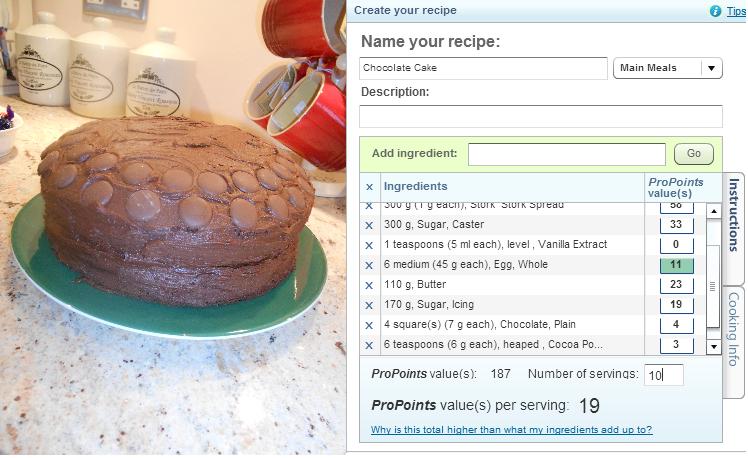 Weight Watchers Chocolate Cake Recipes Uk: A Little Less Of Lauren: Weekend Update