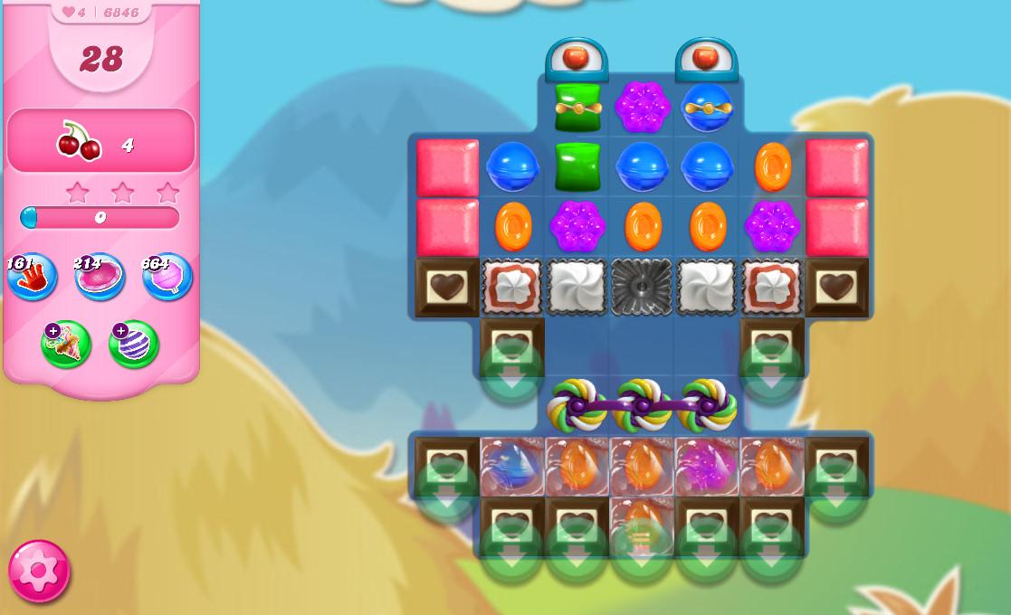 Candy Crush Saga level 6846