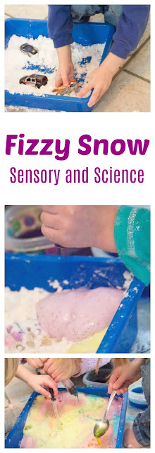 Indoor Fizzy Snow: Sensory Fun and Science for Kids
