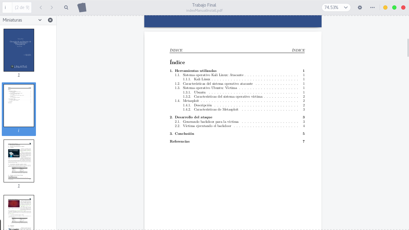 Plantilla para Reportes o Trabajos en LaTeX ~ LiNuXiToS