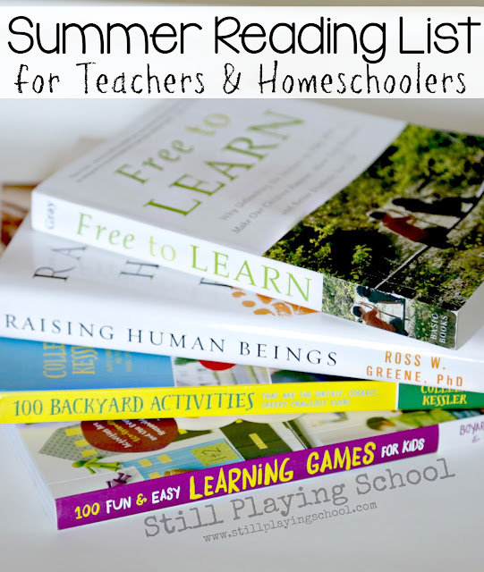 Book list for teachers and homeschool