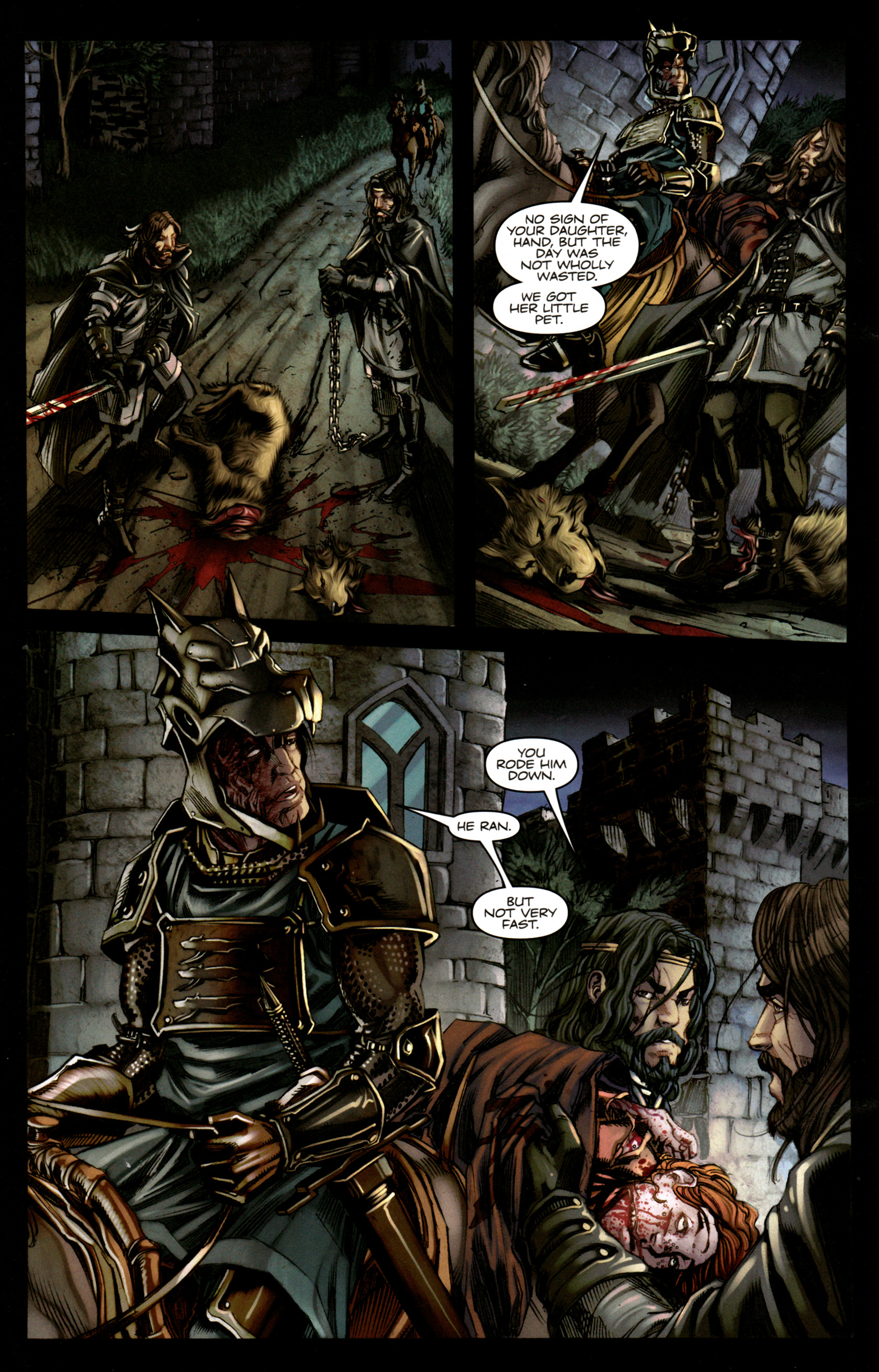 Read online A Game Of Thrones comic -  Issue #5 - 26