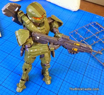 Halo Master Chief Level 3 Bandai SpruKit poseable model review