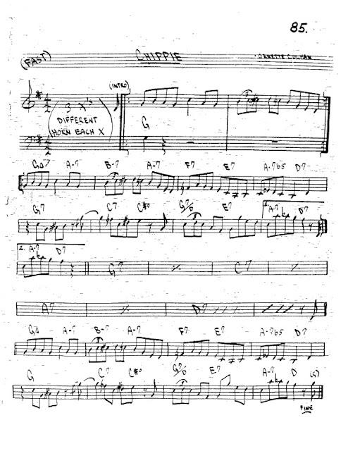 Partitura Trompeta Ornette Coleman
