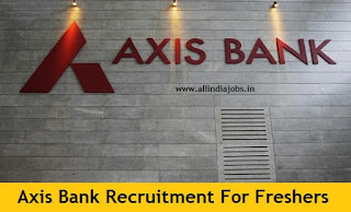 Axis Bank Recruitment