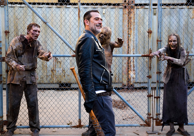 Negan (Jeffrey Dean Morgan) nell'episodio 11