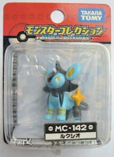 Luxio figure Takara Tomy Monster Collection MC series