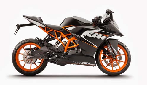 KTM RC 125 Fuel Mileage and Expected Price