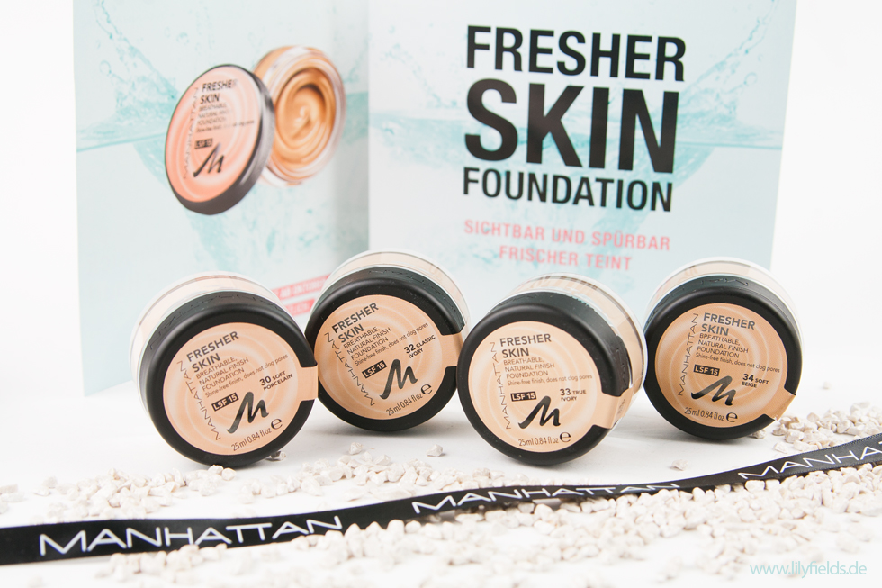 Manhattan - Fresher Skin Foundation