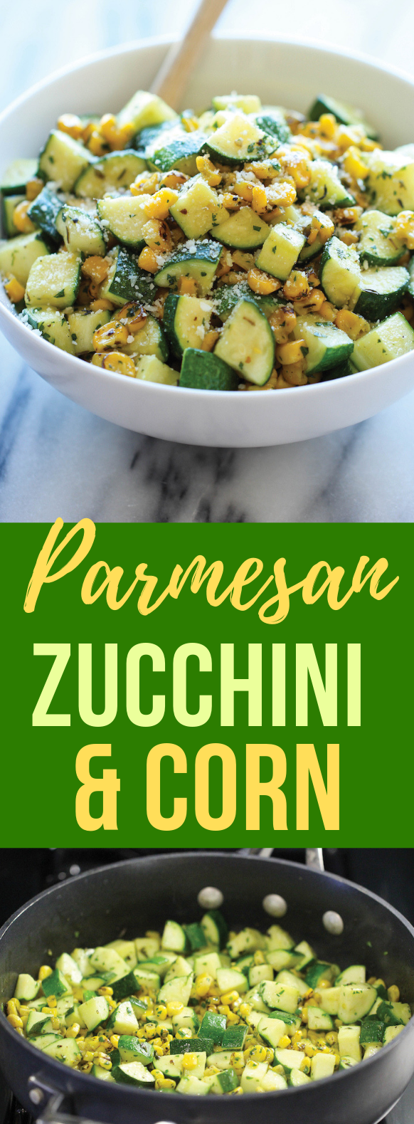 PARMESAN ZUCCHINI AND CORN #veggies #food