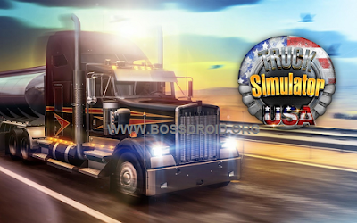 Download Truck Simulator USA Mod Apk+Data Unlimited Money Latest Version