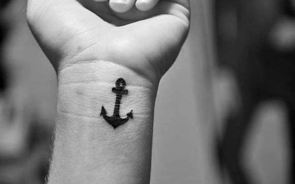 Tatuagem Masculina Tumblr Ancora