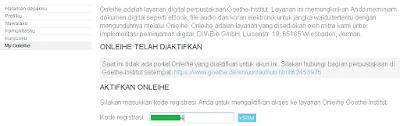 Perpustakaan Digital online Onleihe goethe institut jakarta