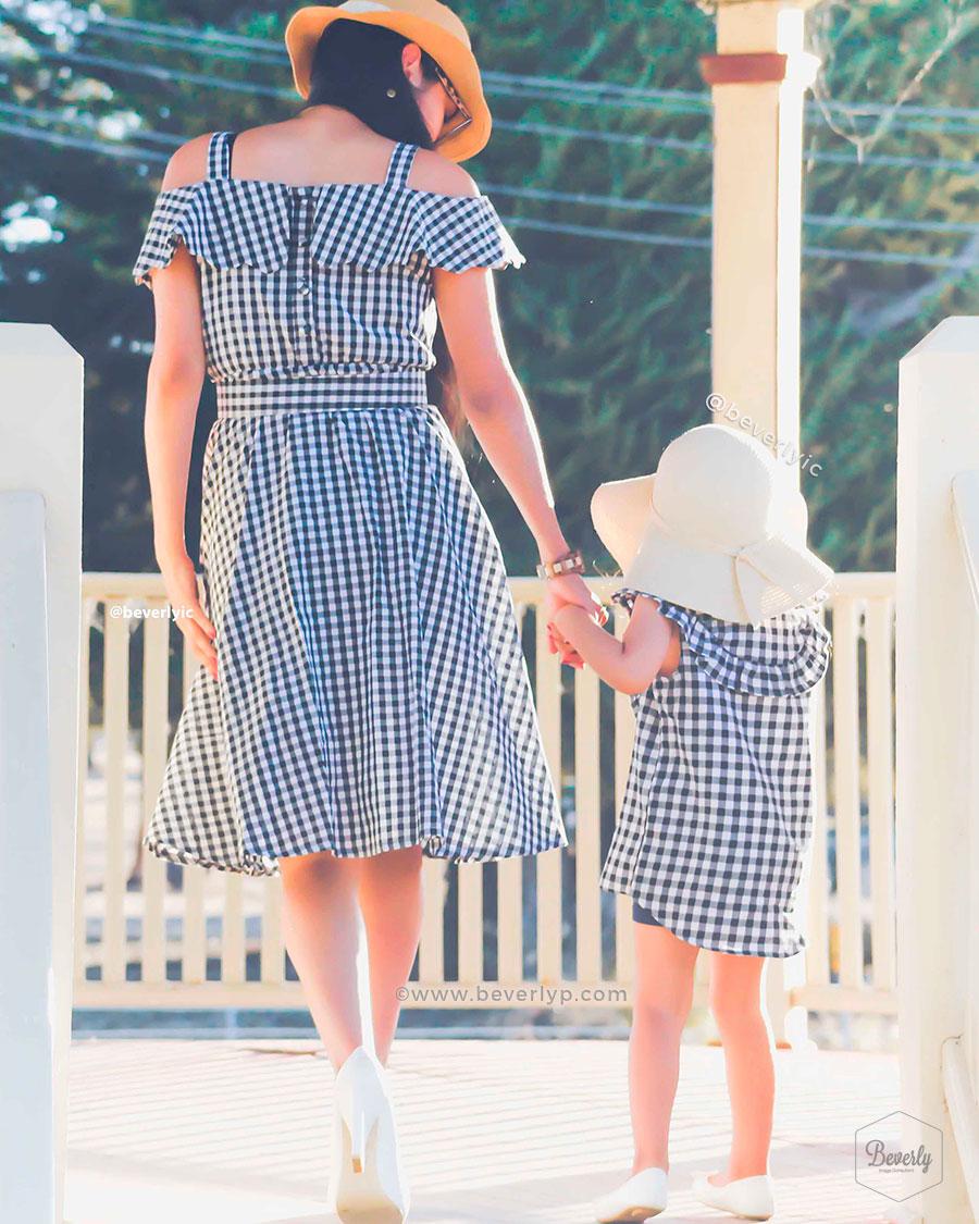 Vestidos idénticos mama e hija