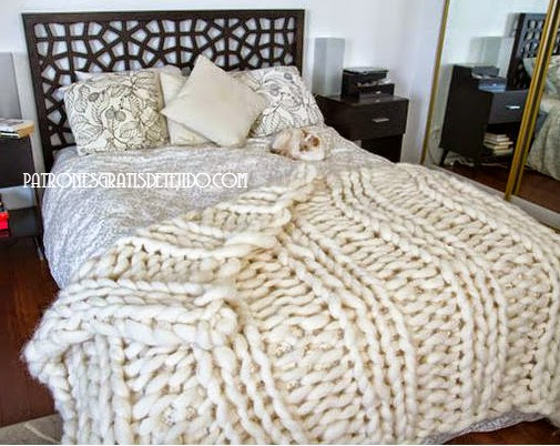 Tejido gigante una tendencia mundial crochet y dos - Lana gruesa para tejer ...