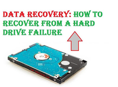 Data Recovery: How to Recover From a Hard Drive Failure