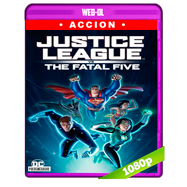 Justice League vs the Fatal Five (2019) WEB-DL 1080p Audio Dual Latino-Ingles