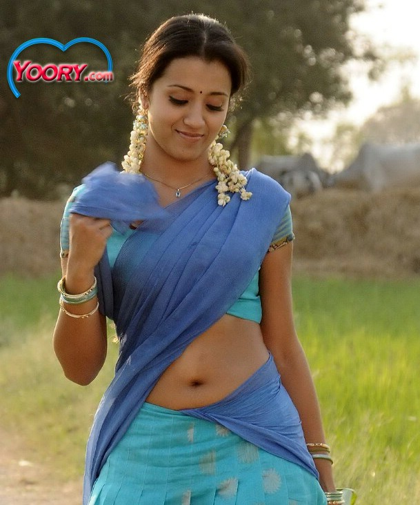 Trisha Hot Navel In Saree « Daily Best And Popular