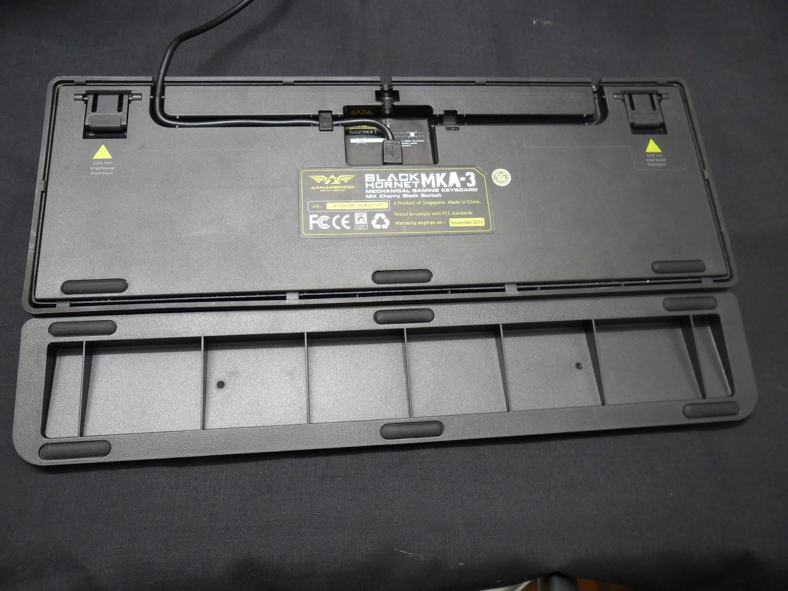 Unboxing & Review: Armaggeddon Black Hornet MKA-3 Mechanical Gaming Keyboard 11