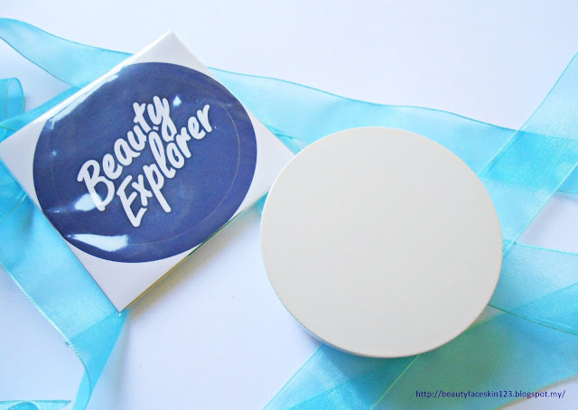 BY WISHTREND BB Cushion Case with Cover Stickers + Extra Puff & Sponge