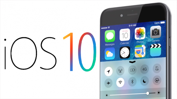 iOS 10, iPhone