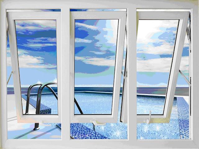 cửa gió nghệ thuật