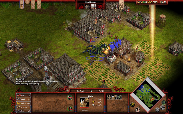 Age of Mythology Tale of the Dragon Free Download Screenshot 2
