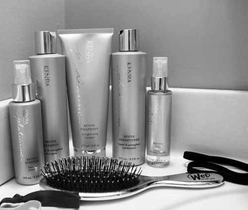 Getting Healthy Hair with Kenra's Plantinum Revive System